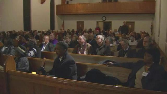 Religious Coalition for a Non-Violent Durham 22nd annual vigil