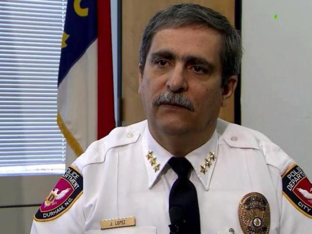 Durham Police Chief Jose Lopez