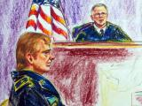Sketch of Gen. Jeffrey Sinclair in court