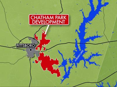 Chatham Park Map
