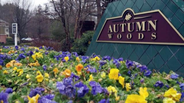 Autumn Woods apartment complex in Carrboro