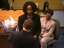 Dr. Kenya McNeal-Trice, a pediatrician at UNC Hospitals in Chapel Hill, testifies March 18, 2014, in the first-degree murder trial of Jonathan Douglas Richardson.