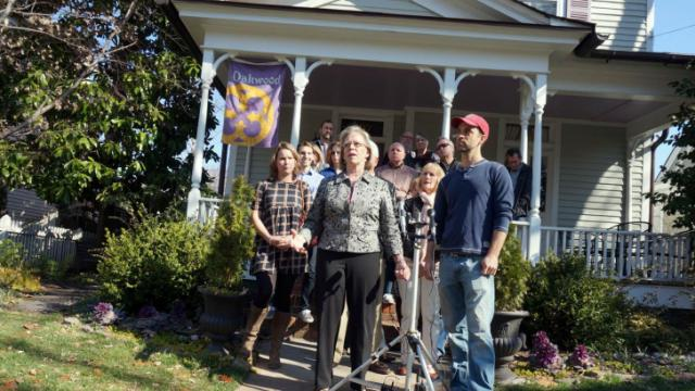 Oakwood residents news conference
