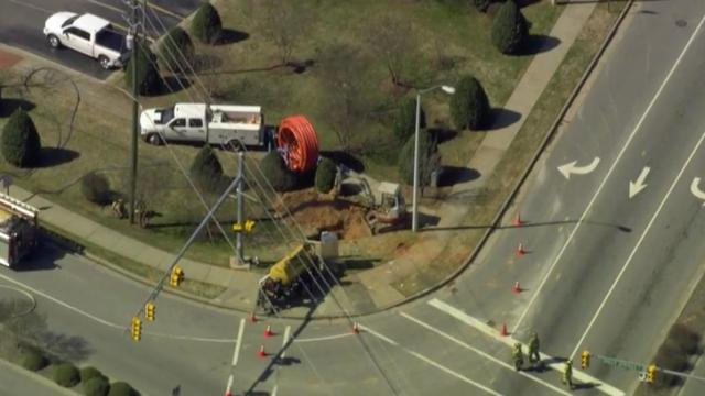 Holly Springs gas leak