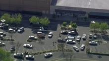 Authorities responded to a call of shots fired outside Northgate Mall on Thursday, April 10, 2014. No one was hurt.