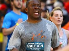 A collection of pictures from the Rock 'n' Roll Marathon in Raleigh on April 13, 2014.