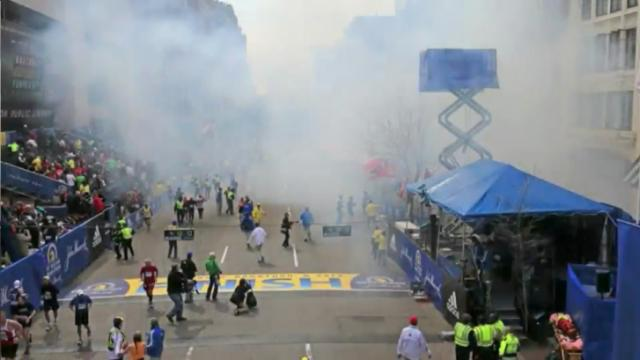 2013 Boston Marathon explosion