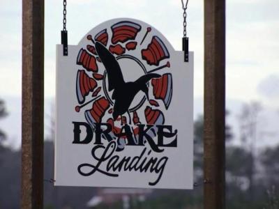 Drake Landing sign