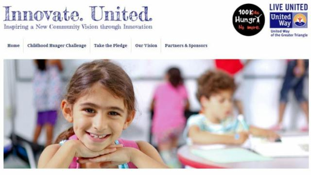The United Way is asking the public to find a soultion to childhood hunger in the Triangle. (Source: United Way of the Greater Triangle)
