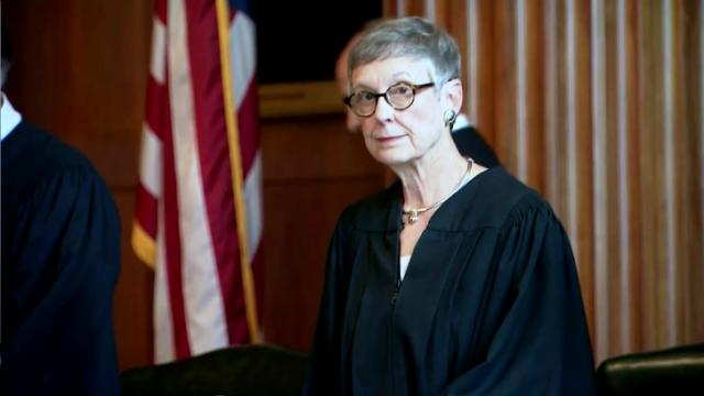 NC Supreme Court Chief Justice Sarah Parker