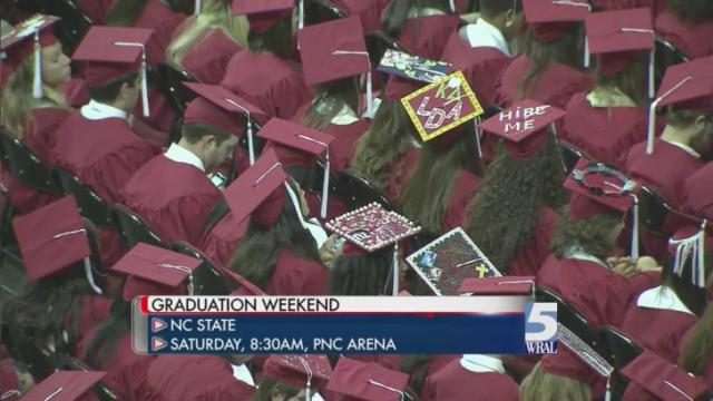 Traffic delays expected around the Triangle for graduation weekend