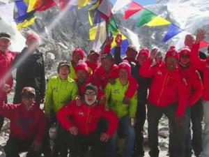 It was a trip of a lifetime, but when Shane Jones looks back at pictures from his journey to Mount Everest the memories are frightening.