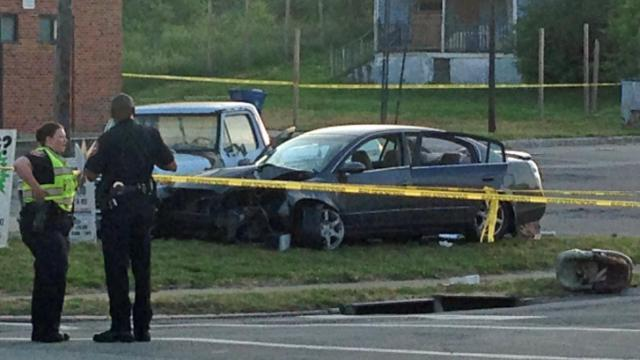 Vehicle involved in Durham shooting on May 13, 2014