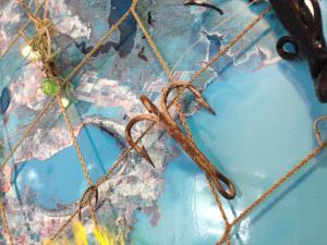Fishermen Toby Chirico says he's seen hooks caught in arms and necks.
