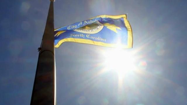 Asheboro flag
