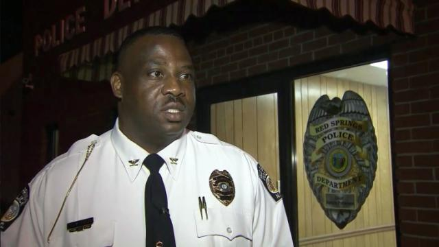 Red Springs Police Chief Ronnie Patterson