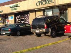 At least 19 shots were fired during a shootout a Durham strip mall on Avondale Drive Friday evening, June 6, 2014.