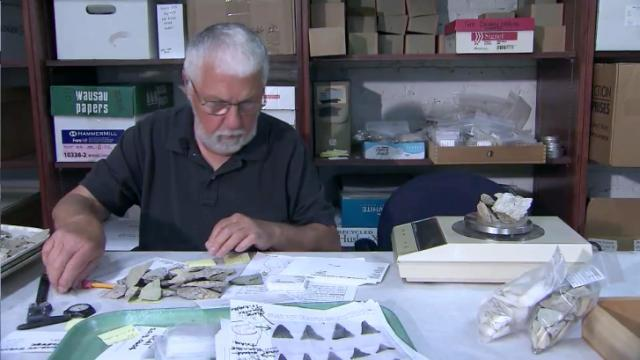 Donated arrowheads could help write NC history