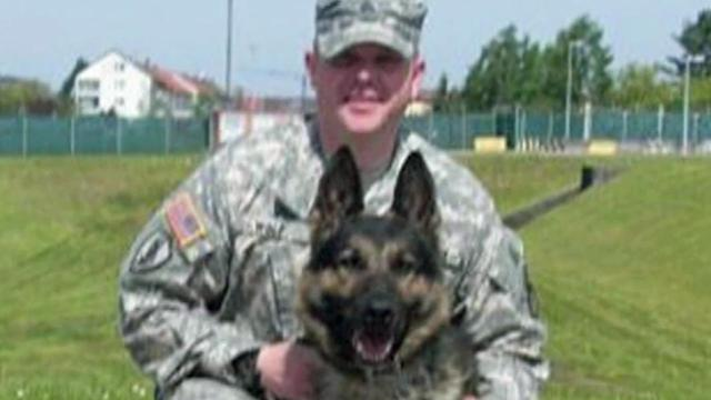 Staff Sgt. Andy Wolf and Iras