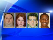 Four arrested, one sought in Sanford child porn operation