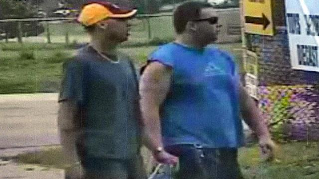 North Carolina Department of Agriculture & Consumer Services Public Safety officials are seeking the public's help to identify two men accused of using counterfeit bills at the North Carolina State Fairgrounds on Sunday.