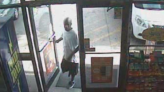 Cumberland County detectives are looking for this man who they suspect shot a disabled veteran during a robbery attempt.