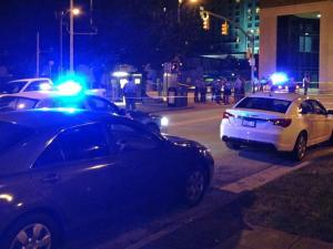 Raleigh police are investigating a deadly stabbing that happened not long after the fireworks lit up the downtown skyline Friday night.