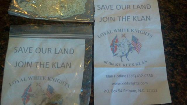 KKK recruitment flier