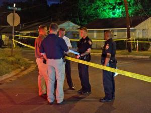 An unidentified person was critically injured at about 2:15 a.m. Wednesday in an officer-involved shooting in the 1500 block of Mathison Street in Durham, police said.