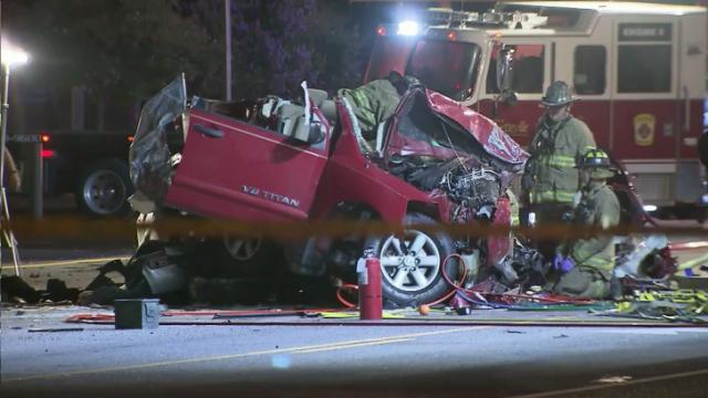 Three people were killed in a four-car crash on Murchison Road in Fayetteville on July 16, 2014.