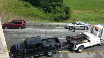 All lanes of Interstate 95 North were closed near mile marker 145, located near Rocky Mount, Sunday afternoon due to a crash, according to the state Department of Transportation.