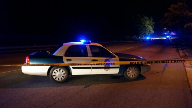 A driver died and a passenger was hurt when their car left the roadway and crashed into trees off North New Hope Road in Raleigh on July 21, 2014.