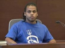 Laurence Lovette's friend, Phillip Maybrey, testifies  July 21, 2014, in Lovette's first-degree murder trial for the shooting death of Abhijit Mahato.
