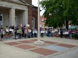 Chapel Hill immigration rally