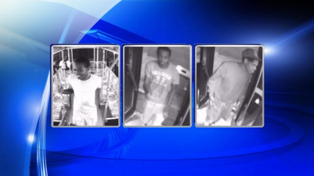 Durham police released these images from surveillance video of three teens believed to have set a chemical explosion off on a Bull City Connector bus.