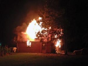 Fire destroys Durham home