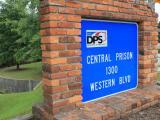 Central Prison Sign