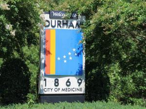 Durham sign