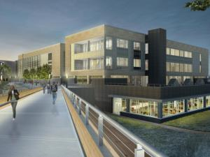 Wake Tech library rendering