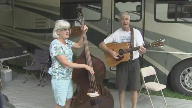 Local bluegrass festival proceeds three weeks after founder's shooting