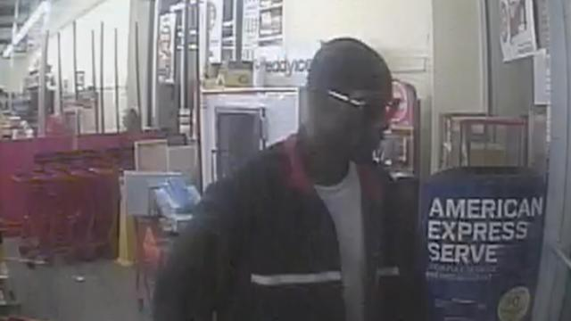 Cumberland County sheriff's deputies are looking for this man in the robbery of a Family Dollar Monday, Aug. 4. 2014.