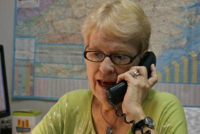 Help-line calls at the National Alliance on Mental Illness in North Carolina have increased since the suicidal death of comedian Robin Williams. Gloria Harrison, the non-profit's help-line manager, also suffers from depression and has attempted suicide.