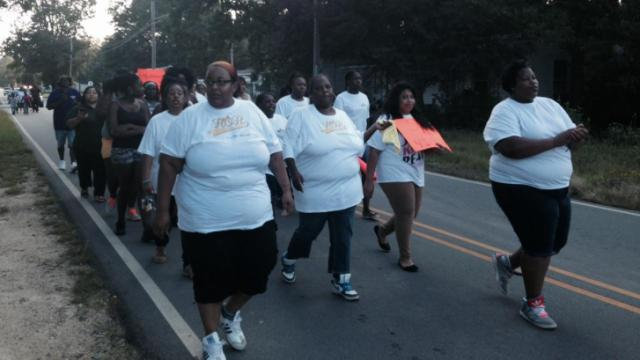 Enfield march against crime