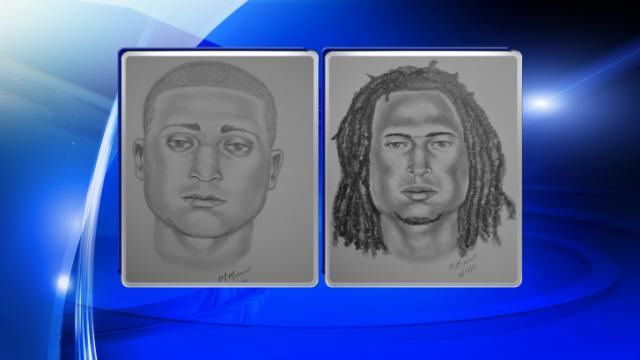 Police are asking for the public's help identifying these two men wanted for questioning in the July 29, 2014, shootind death of Quentin McKoy.