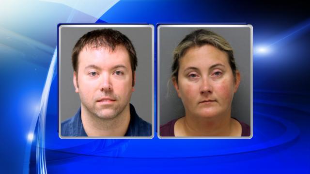 Michael Dana Kerr, left, and Natalie Ledford Kerr