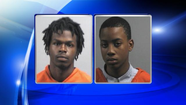 Shai Valentine, left, and Michael Anthony Brown