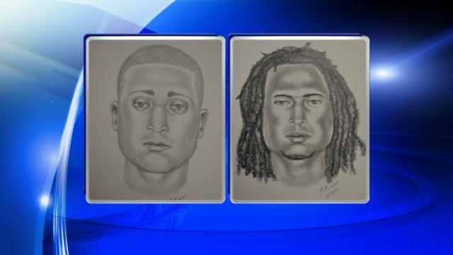 Lillington police released composite sketches Tuesday of two men wanted in connection with a July 29 fatal shooting on Cedar Grove School Road.