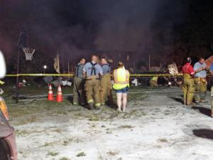 Six people died in a fire early Saturday at a residence in Garland, the Sampson County Sheriff's Office said.