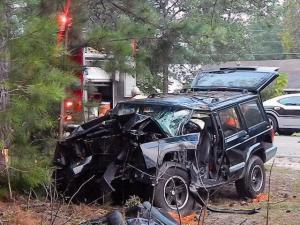 One killed in Moore County wreck