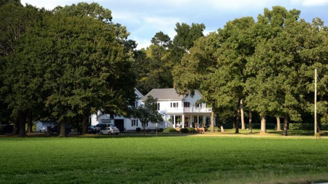 Law enforcement found the body of a woman Friday, Sept. 5, 2014, at 4901 Old Warsaw Road.